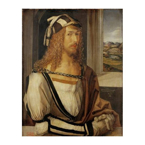 cuadros de retrato - Cuadro -Autoretrato (I)-