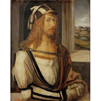 - Cuadro -Autoretrato (I)- - Dürer, Albrecht (Albert Durer)