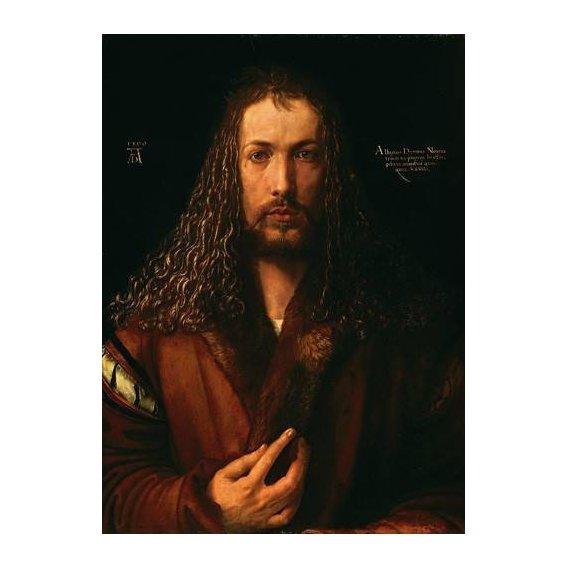 cuadros de retrato - Cuadro -Autoretrato (II)-