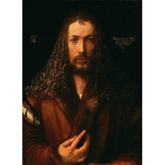 - Cuadro -Autoretrato (II)- - Dürer, Albrecht (Albert Durer)