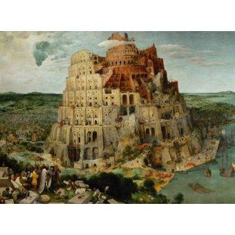 cuadros religiosos - Cuadro -La Tour de Babel- - Bruegel