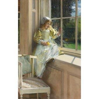 - Cuadro -Sunshine- - Alma-Tadema, Lawrence