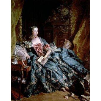 - Cuadro -Madame de Pompadour- - Boucher, François