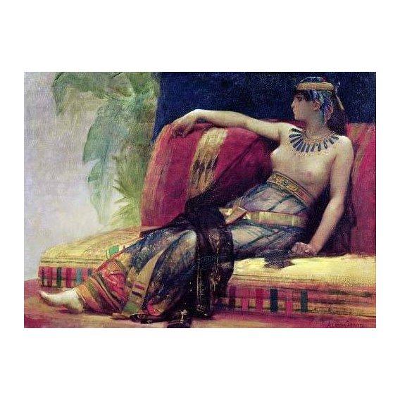 cuadros de retrato - Cuadro -Cleopatra (69-30 BC)-