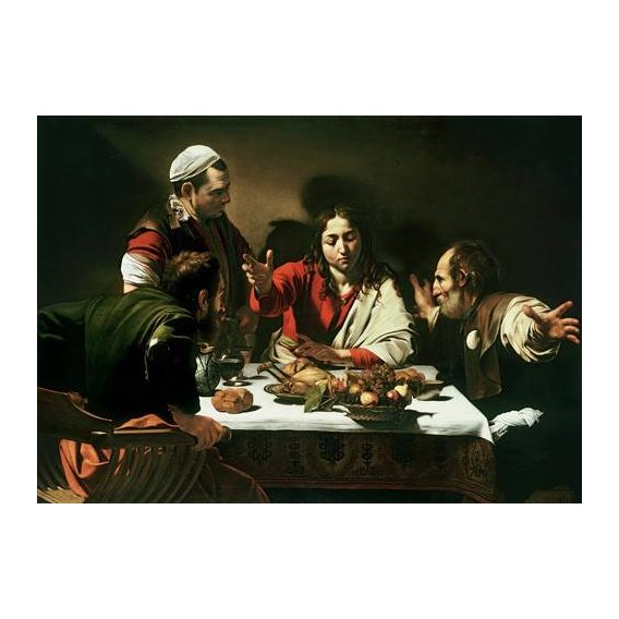 cuadros religiosos - Cuadro -The Supper at Emmaus, 1601-