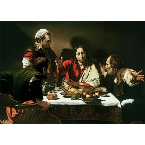 Cuadro -The Supper at Emmaus, 1601-