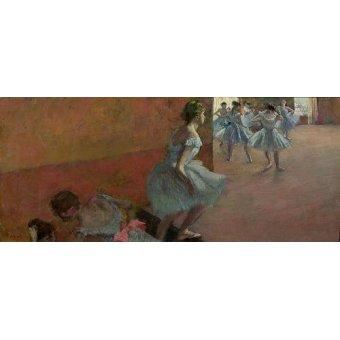- Cuadro -Dancers Ascending a Staircase, c.1886-88- - Degas, Edgar