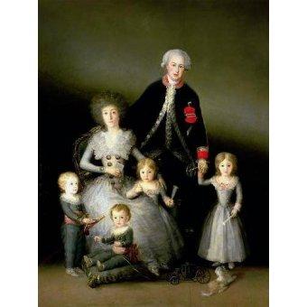 - Cuadro -El Duque de Osuna y su familia, 1788- - Goya y Lucientes, Francisco de
