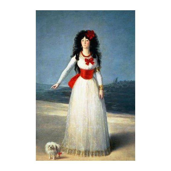 cuadros de retrato - Cuadro -La Duquesa de Alba, 1795-