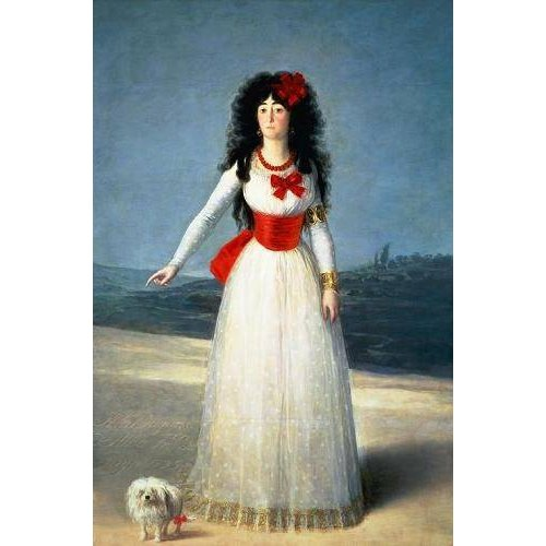 Cuadro -La Duquesa de Alba, 1795-
