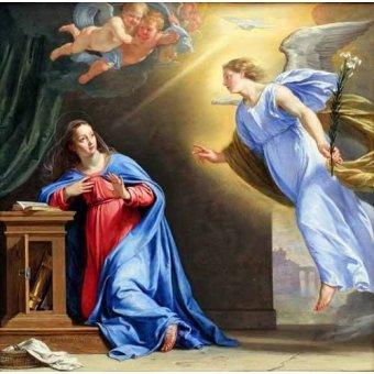 - Cuadro -La Anunciación- - Champaigne, Philippe de