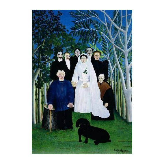 cuadros de retrato - Cuadro -The Wedding Party, 1904-05-