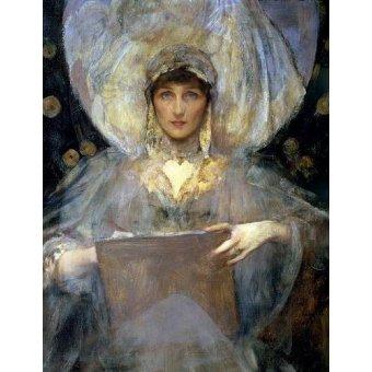 - Cuadro -Violet, Duchess of Rutland- - Shanon, Sir James
