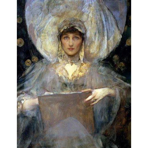 cuadros de retrato - Cuadro -Violet, Duchess of Rutland-