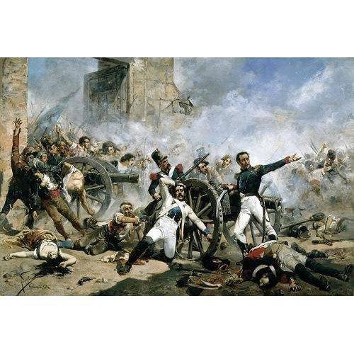 cuadros de retrato - Cuadro -El Dos de Mayo en Madrid, 1884.-