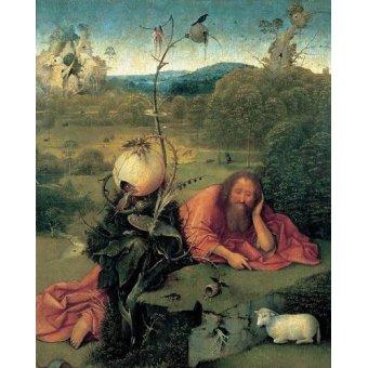- Cuadro -San Juan Bautista en meditación- - Bosco, El (Hieronymus Bosch)