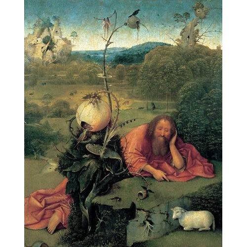 Cuadro -San Juan Bautista en meditación-