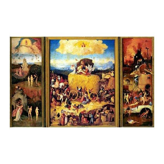 cuadros de paisajes - Cuadro -El Carro De Heno (Tríptico completo)-.