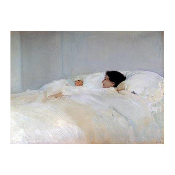 cuadros de retrato - Cuadro -Maternidad-