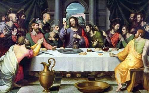 cuadros-religiosos - Cuadro -La Ultima Cena- - Juanes, Juan de