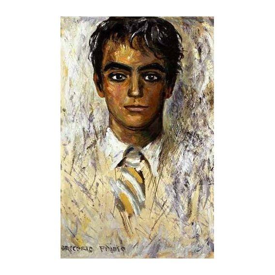 cuadros de retrato - Cuadro -Retrato de Federico Garcia Lorca-