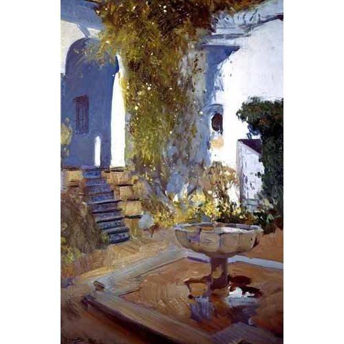 Cuadro -Jardin de la casa del artista (V)-
