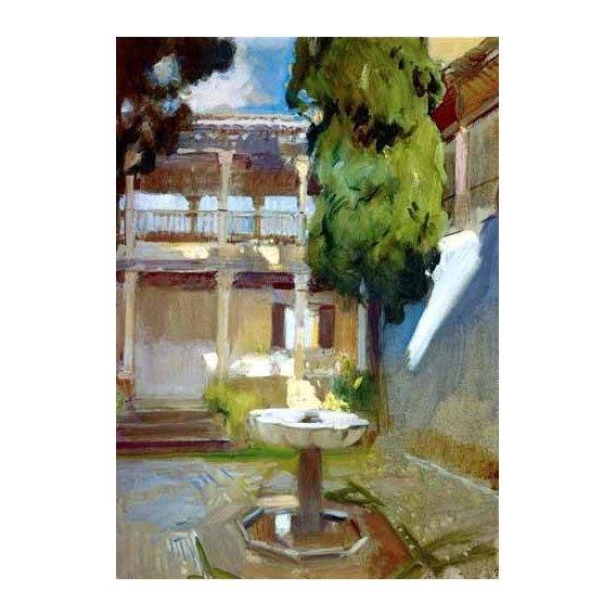 cuadros de paisajes - Cuadro -La Alhambra de Granada (I)-