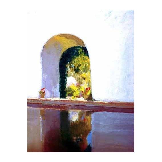 cuadros de paisajes - Cuadro -Vista de El Roncal-