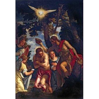 - Cuadro -El Bautismo De Cristo- - Veronese, Paolo