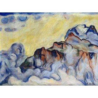 cuadros abstractos - Cuadro -Landscape- - Hodler, Ferdinand