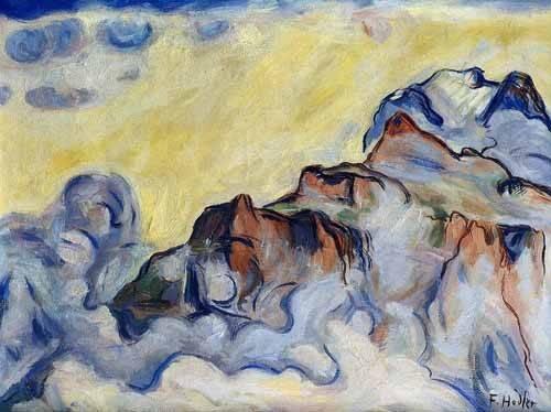 cuadros-abstractos - Cuadro -Landscape- - Hodler, Ferdinand