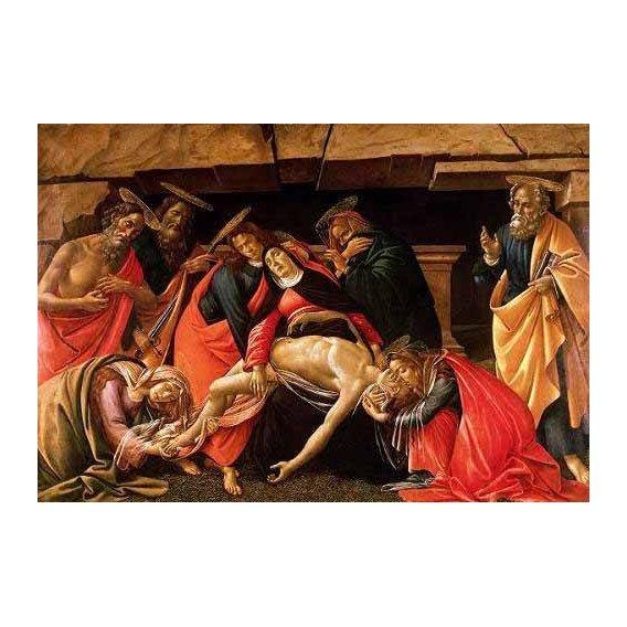 cuadros religiosos - Cuadro -Lamentación de Cristo-