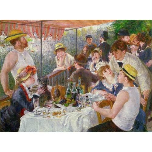 Cuadro -El almuerzo de los remeros, 1881-