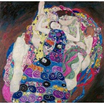 - Cuadro -Die Jungfrau- o -La Virgen- - Klimt, Gustav
