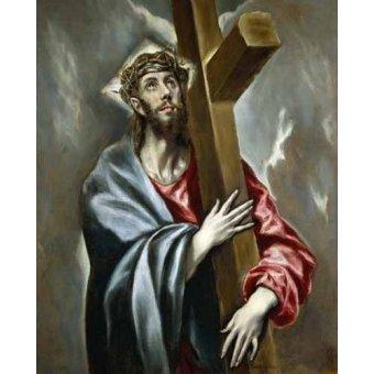 - Cuadro -Cristo portando la Cruz- - Greco, El (D. Theotocopoulos)