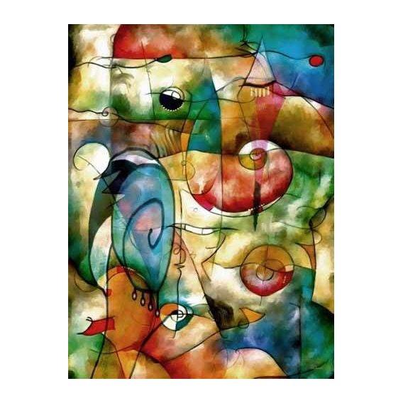cuadros abstractos - Cuadro -Moderno CM1278-