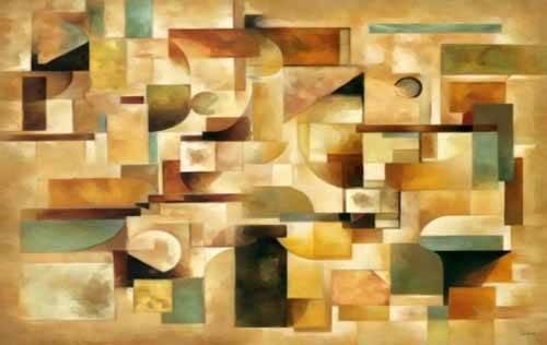 cuadros-abstractos - Cuadro -Moderno CM1279- - Medeiros, Celito