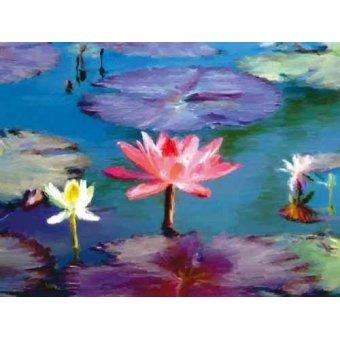 cuadros de flores - Cuadro -Moderno CM1369- - Medeiros, Celito