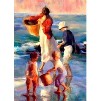 cuadros de marinas - Cuadro -Moderno CM1397- - Medeiros, Celito