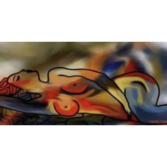 cuadros de retrato - Cuadro -Moderno CM1640- - Medeiros, Celito