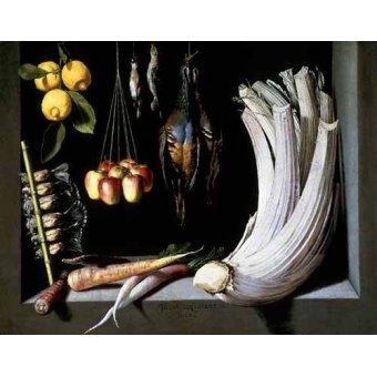 - Cuadro -Caza, fruta y hortalizas - - Cotan, Juan Sanchez