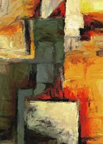 cuadros-abstractos - Cuadro -Moderno CM1719- - Medeiros, Celito