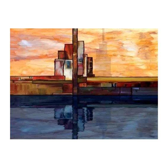 cuadros abstractos - Cuadro -Moderno CM1795-