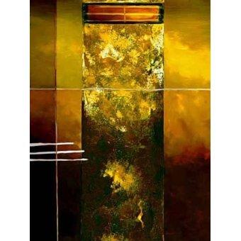 cuadros abstractos - Cuadro -Moderno CM2011- - Medeiros, Celito