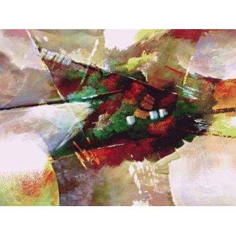 cuadros abstractos - Cuadro -Moderno CM2019- - Medeiros, Celito