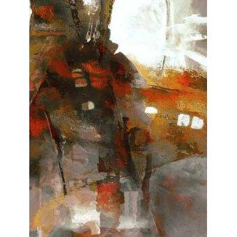 cuadros abstractos - Cuadro -Moderno CM2053- - Medeiros, Celito