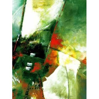cuadros abstractos - Cuadro -Moderno CM2055- - Medeiros, Celito