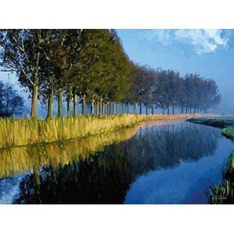 cuadros de paisajes - Cuadro -Moderno CM2145- - Medeiros, Celito