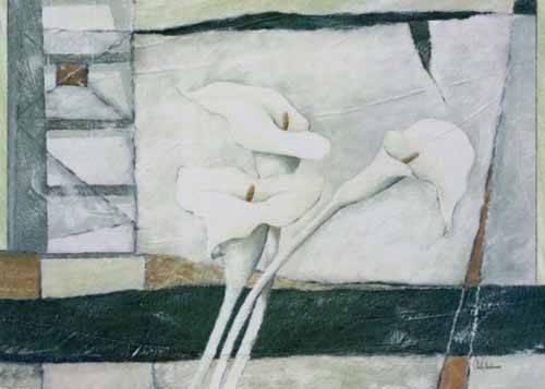 cuadros-abstractos - Cuadro -Moderno CM2300- - Medeiros, Celito