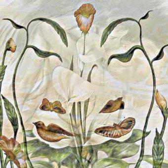 cuadros de flores - Cuadro -Moderno CM3498- - Medeiros, Celito